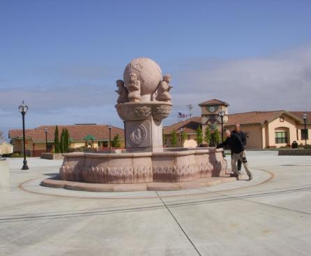 Castroville Plaza Fountain Community
