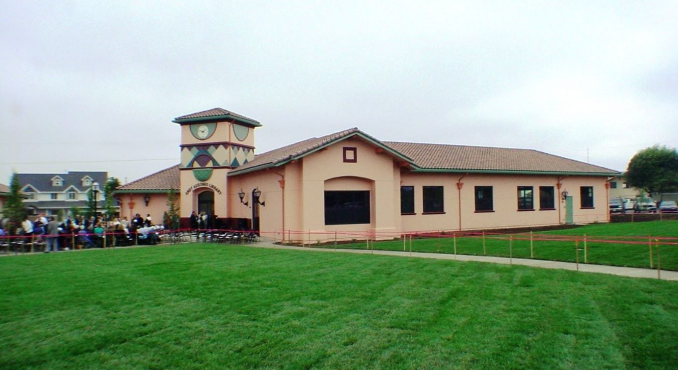 Castroville Library From Lawn