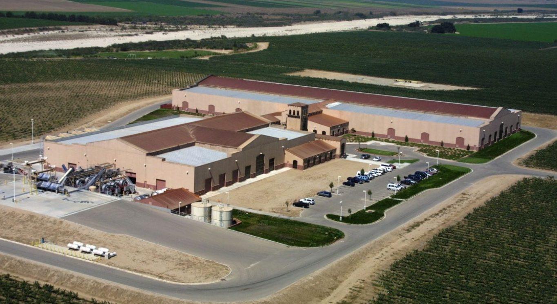 KJ Winery aerial side