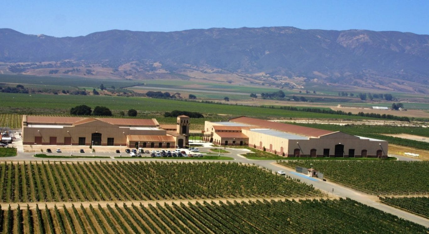 KJ Winery Aerial Front