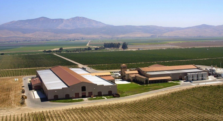 KJ Winery Aerial Rear