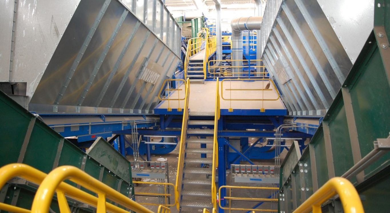materials recovery facility 20