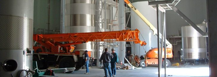 Winery, Brewery & Distillery Construction