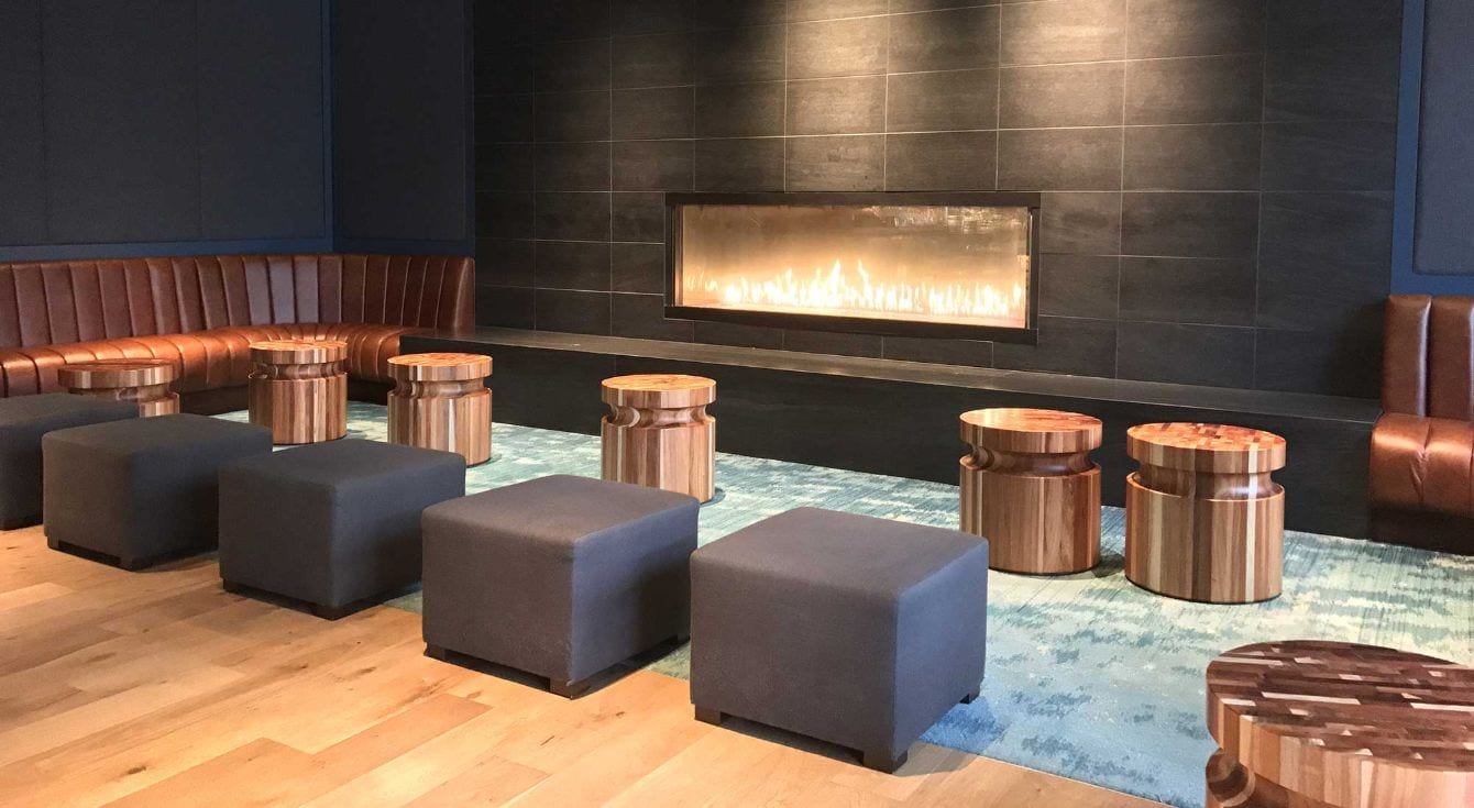 Renovations To The Hotel Lobby And Jacks Bar Area Inside Of Beautiful Portola Spa In Monterey Ca
