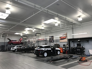 Interior Porsche Center